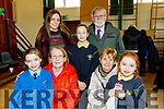 Seated L-R Aine&Kay O'Shea with Mary Duggan and Laura Commane, back L-R Caroline, Máire and Frankie O'Shea at the Presentation Primary school, Tralee, Grandparents day last Tuesday, Feb 11, at the school.