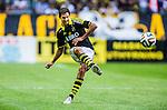 Solna 2014-07-12 Fotboll Allsvenskan AIK - Kalmar FF :  <br /> AIK:s Celso Borges i aktion <br /> (Foto: Kenta J&ouml;nsson) Nyckelord:  AIK Gnaget Friends Arena Kalmar KFF portr&auml;tt portrait