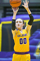 Albany defeats New Hampshire 66-53 in an America East conference game on January 06, 2018 at SEFCU Arena in Albany, New York.  (Bob Mayberger/Eclipse Sportswire)