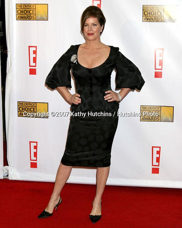 Marcia Gay Harden.12th Annual Critics' Choice Awards - Arrivals.Santa Monica Civic Center.Santa Monica, California United States.January 12, 2007.©2007 Kathy Hutchins / Hutchins Photo.