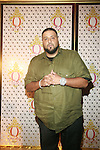 DJ Khaled Attends the Launch of QREAM With A Q Created by Pharrell Williams, held at the New York Public Library, NY 7/20/11