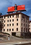 Elvis Costello billboard, Sunset Strip,1978