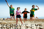 Enjoying the weather at Ballyheigue Beach on Monday were Emma Woods, Eilis Gaynor, Melanie Dineen Higgins, Ava O'Halloran, Ballyheigue