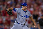 7 October 2017: Chicago Cubs pitcher Mike Montgomery on the mound against the Washington Nationals at Nationals Park in Washington, DC. The Nationals defeated the Cubs 6-3 and even their best of five Postseason series at one game apiece. Mandatory Credit: Ed Wolfstein Photo *** RAW (NEF) Image File Available ***