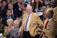 Canton, Ohio - August 1, 2014: Former Washington Redskin and Hall of Famer Sonny Jergensen attends the Pro Football Hall of Fame's class of 2014 enshrinement dinner in Canton, Ohio  August 1, 2014.   (Photo by Don Baxter/Media Images International)