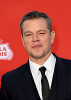 Matt Damon at the premiere for &quot;Suburbicon&quot; at the Regency Village Theatre, Westwood. Los Angeles, USA 22 October  2017<br /> Picture: Paul Smith/Featureflash/SilverHub 0208 004 5359 sales@silverhubmedia.com