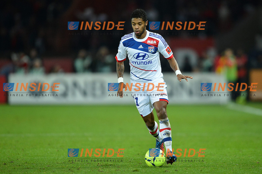 Michel bastos (Lyon)  .Football Calcio 2012/2013.Ligue 1 Francia.Foto Panoramic / Insidefoto .ITALY ONLY