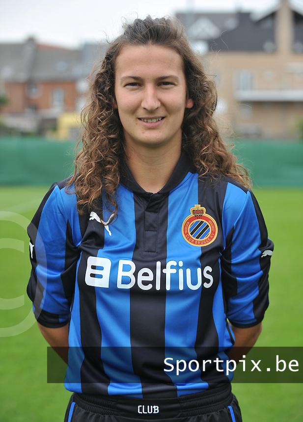 Club Brugge Dames : Evy De Smedt.foto DAVID CATRY / Vrouwenteam.be
