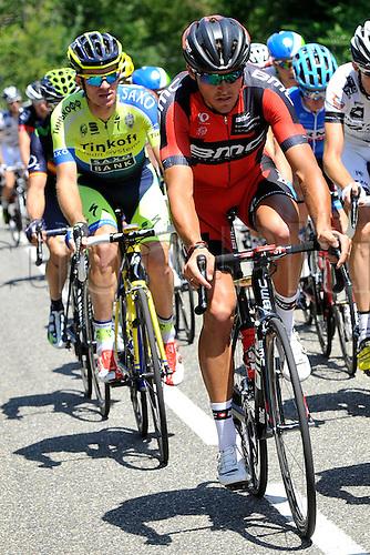 22.07.2014. Carcassonne to Bagnères-de-Luchon, France. Tour de France cycling championship, stage 16.   VAN AVERMAET Greg (BEL - BMC Racing team)