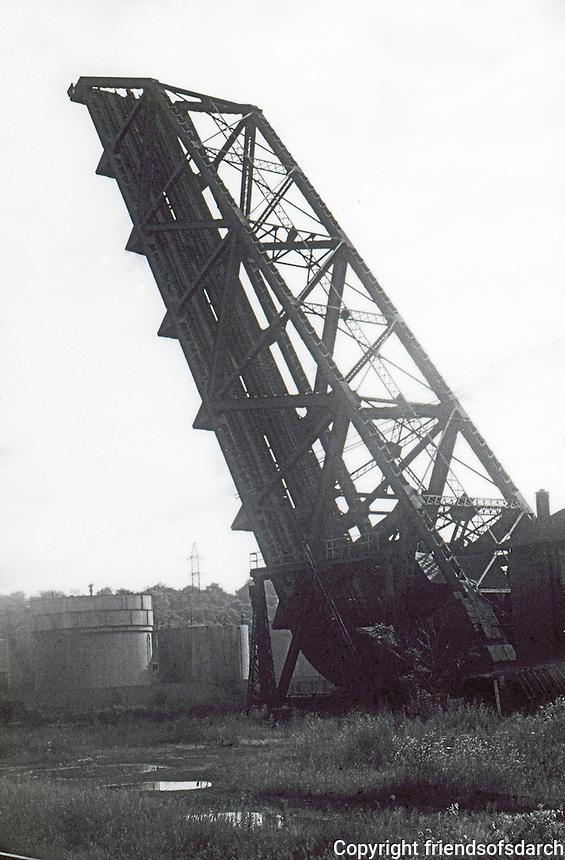 Cleveland:  Crane, drawbridge.