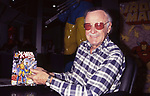 Stan Lee attends the N.A.T.P.E Convention on January 11, 1997 in New Orleans.