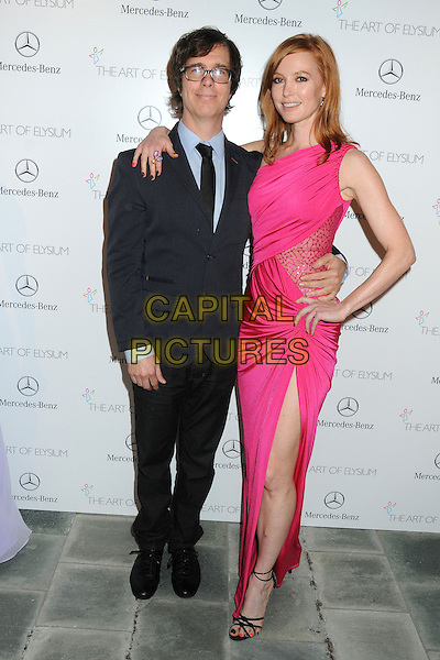 11 January 2014 - Los Angeles, California - Ben Folds, Alicia Witt. 7th Annual Art of Elysium Heaven Gala held at the Skirball Cultural Center.  <br /> CAP/ADM/BP<br /> &copy;Byron Purvis/AdMedia/Capital Pictures