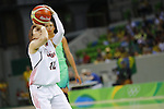Asami Yoshida (JPN), AUGUST 8, 2016 - Basketball : <br /> Women's Preliminary Round <br /> between Japan 82-66 Brazil <br /> at Youth Arena <br /> during the Rio 2016 Olympic Games in Rio de Janeiro, Brazil. <br /> (Photo by Yusuke Nakanishi/AFLO SPORT)