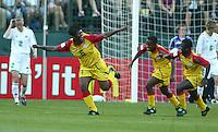Alberta Sackey, Ghana vs. Australia, 2003 WWC.
