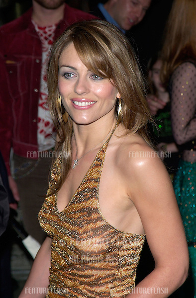 Actress ELIZABETH HURLEY at the Hollywood premiere of Blow..29MAR2001. © Paul Smith/Featureflash