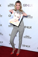 BEVERLY HILLS, CA, USA - JUNE 28: Actress Katie Cassidy arrives at the Genlux Magazine Summer 2014 Issue Release Party held at the Luxe Hotel on June 28, 2014 in Beverly Hills, California, United States. (Photo by Xavier Collin/Celebrity Monitor)