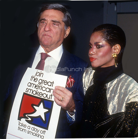 #RobertMerrill #MelbaMoore 1985<br /> Photo By John Barrett/PHOTOlink.net / MediaPunch
