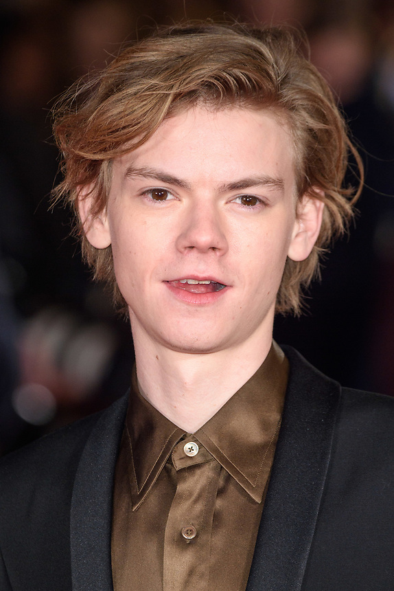 """Thomas Brodie-Sangster<br /> arriving for the """"Maze Runner: The Death Cure"""" Fan Screening at the Vue West End, Leicester Square, London<br /> <br /> <br /> ©Ash Knotek  D3370  22/01/2018"""