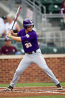 LSU Tigers shortstop Alex Bregman (30) at bat against the Texas A&M Aggies in the NCAA Southeastern Conference baseball game on May 10, 2013 at Blue Bell Park in College Station, Texas. LSU defeated Texas A&M 7-4. (Andrew Woolley/Four Seam Images).