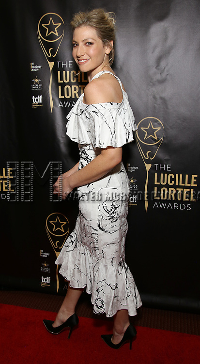 attends 32nd Annual Lucille Lortel Awards at NYU Skirball Center on May 7, 2017 in New York City.