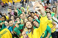 TORONTO, CANADÁ, 25.07.2015 - PAN-HANDBOL- Jogador Fabio Chiuffa  comemora medalha de ouro apos partida entre Brasil x Argentina valido para final do Handbol nos Jogos Panamericanos na cidade de Toronto no Canadá, neste sábado, 25 (Foto: Vanessa Carvalho/Brazil Photo Press)
