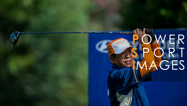 Players in action during the Hyundai China Ladies Open 2014 Pro-am on December 09 2014, in Shenzhen, China. Photo by Xaume Olleros / Power Sport Images