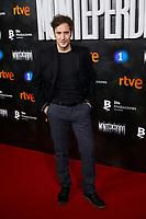 Alex Gadea attends to La Caza. Monteperdido premiere at Capitol cinema in Madrid, Spain. March 12, 2019. (ALTERPHOTOS/A. Perez Meca)