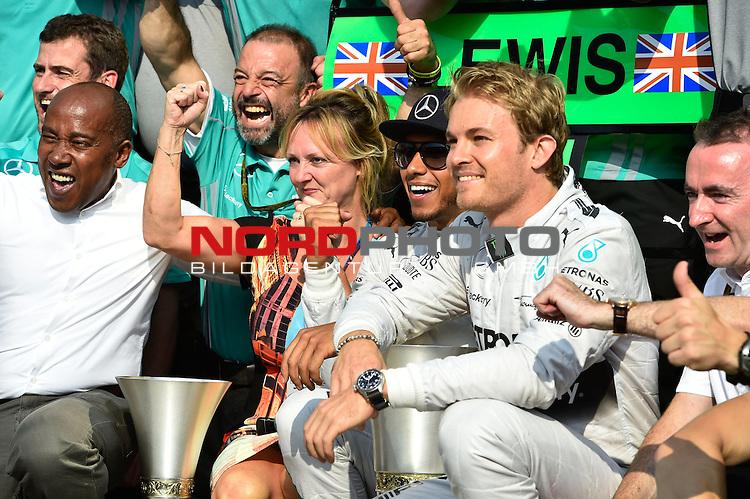 Lewis Hamilton (GBR), Mercedes GP - Nico Rosberg (GER), Mercedes GP<br />  Foto &copy; nph / Mathis