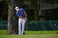 Justin Thomas (USA) chips on to 10 during round 2 of the WGC FedEx St. Jude Invitational, TPC Southwind, Memphis, Tennessee, USA. 7/26/2019.<br /> Picture Ken Murray / Golffile.ie<br /> <br /> All photo usage must carry mandatory copyright credit (© Golffile | Ken Murray)