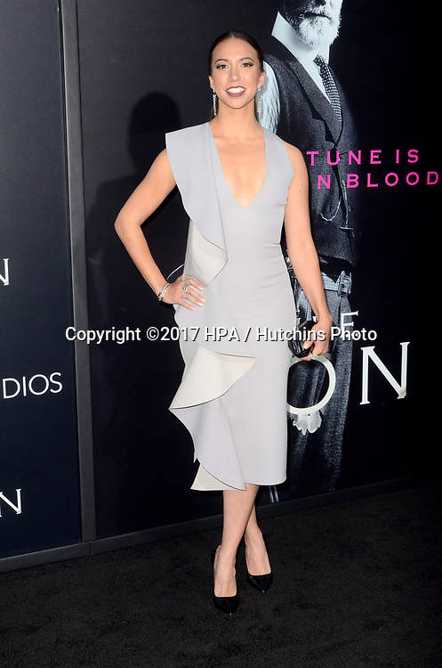 "LOS ANGELES - APR 3:  Elizabeth Frances at the AMC's ""The Son"" Season One LA Premiere at ArcLight Theater on April 3, 2017 in Los Angeles, CA"