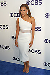 Toni Trucks arrives at the CBS Upfront at The Plaza Hotel in New York City on May 17, 2017.