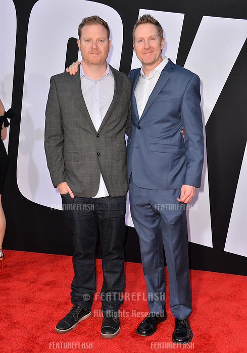 Brian Kehoe &amp; Jim Kehoe at the premiere for &quot;Blockers&quot; at the Regency Village Theatre, Los Angeles, USA 03 April 2018<br /> Picture: Paul Smith/Featureflash/SilverHub 0208 004 5359 sales@silverhubmedia.com