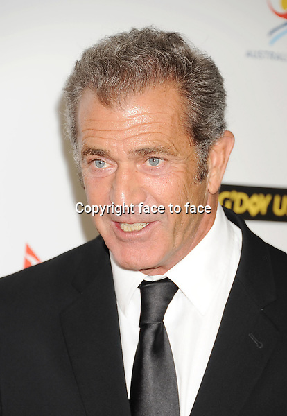 LOS ANGELES, CA- JANUARY 11: Actor Mel Gibson attends the 2014 G'Day USA Los Angeles Black Tie Gala at JW Marriott Los Angeles at L.A. LIVE on January 11, 2014 in Los Angeles, California.<br />