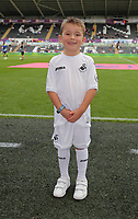 Child mascot before the Premier League match between Swansea City and Chelsea at The Liberty Stadium on September 11, 2016 in Swansea, Wales.