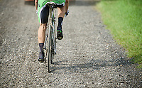 finally a true 'gravel' section; no mud rules here!<br /> <br /> 90th Schaal Sels 2015