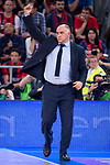 Real Madrid coach Pablo Laso during Liga Endesa Finals match (4th game) between Real Madrid and Kirolbet Baskonia at Fernando Buesa Arena in Vitoria, Spain. June 13, 2018. (ALTERPHOTOS/Borja B.Hojas)