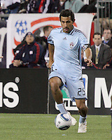 Colorado Rapids midfielder Pablo Mastroeni (25).  The Colorado Rapids defeated the New England Revolution, 2-1, at Gillette Stadium on April 24.2010