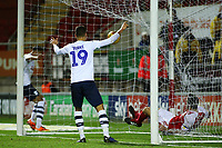 Preston North End's Graham Burke looks on as an own goal gets his side back into the game<br /> <br /> Photographer David Shipman/CameraSport<br /> <br /> The EFL Sky Bet Championship - Rotherham United v Preston North End - Tuesday 1st January 2019 - New York Stadium - Rotherham<br /> <br /> World Copyright © 2019 CameraSport. All rights reserved. 43 Linden Ave. Countesthorpe. Leicester. England. LE8 5PG - Tel: +44 (0) 116 277 4147 - admin@camerasport.com - www.camerasport.com