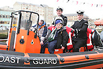 Cian and Rory Fitzpatrick in the Coastguard boat at Scotch Hall...Photo NEWSFILE/Jenny Matthews.(Photo credit should read Jenny Matthews/NEWSFILE)....This Picture has been sent you under the condtions enclosed by:.Newsfile Ltd..The Studio,.Millmount Abbey,.Drogheda,.Co Meath..Ireland..Tel: +353(0)41-9871240.Fax: +353(0)41-9871260.GSM: +353(0)86-2500958.email: pictures@newsfile.ie.www.newsfile.ie.FTP: 193.120.102.198.