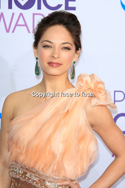 Kristin Kreuk attending the 34th Annual People's Choice Awards at the Nokia Theatre in Los Angeles, California, January 9, 2013...Credit: Martin Smith/face to face