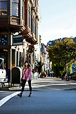 USA, California, San Francisco, NOPA street scenes