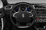 Car pictures of steering wheel view of a 2016 Ds DS4 Opera-Blue 5 Door Hatchback Steering Wheel