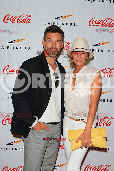 LeAnn Rimes, Eddie Cibrian at the Grand Opening Celebrity VIP Reception of the FIRST SIGNATURE LA FITNESS CLUB, Woodland Hills, Los Angeles, California, 02.06.2012...Credit: Martin Smith/face to face /MediaPunch Inc. ***FOR USA ONLY***