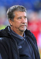 Panama manager Hernan Dario Gomez during the international friendly soccer match between Wales and Panama at Cardiff City Stadium, Cardiff, Wales, UK. Tuesday 14 November 2017.