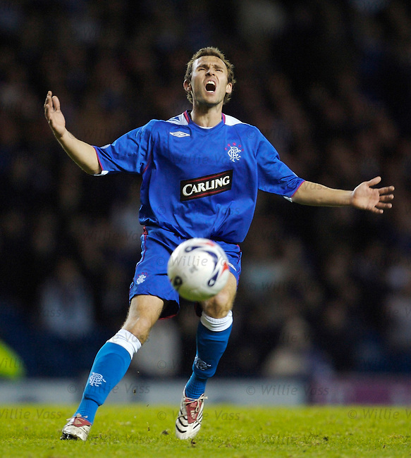 Thomas Buffel, Rangers.stock season 2006-2007.pic willie vass