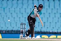 13th March 2020, Sydney Cricket Ground, Sydney, Australia;  Henry Nicholls of the Blackcaps batting. International One Day Cricket. Australia versus New Zealand Blackcaps, Chappell–Hadlee Trophy, Game 1.