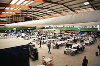 Medienzentrum am Stadion Prinzenpark in Paris - EM 2016: Rumänien vs. Schweiz, Parc de Princes, Gruppe A 2. Spieltag, Paris