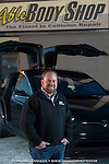 Ryan Cropper, owner of Able Body Shop in Anchorage, Alaska.