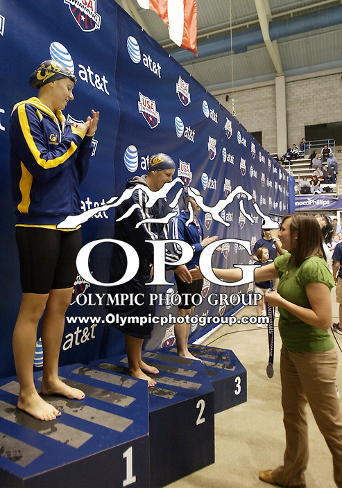 04 December 2009:  Amanda Sims from California Aquatics placed second with a time 52.96 while competing in the 100 Yard Butterfly at the AT&T Short Course National Championships held at the King County Aquatic Center in Federal Way, Washington.