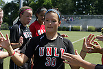 05 September 2009: UNLV's Ashleigh Shoughro. The Duke University Blue Devils played the University of Nevada Los Vegas Runnin' Rebels to a 0-0 tie after overtime at Koskinen Stadium in Durham, North Carolina in an NCAA Division I Women's college soccer game.